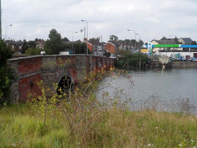 The old Bourne Bridge