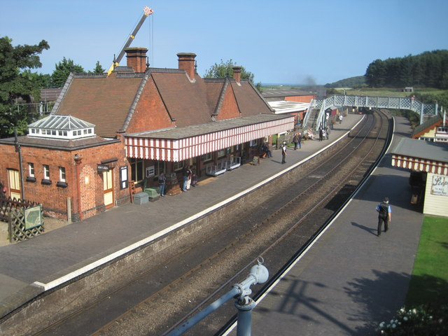 Weybourne NNR railway station, Norfolk