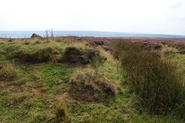Drainage ditch on Rosedale Moor
