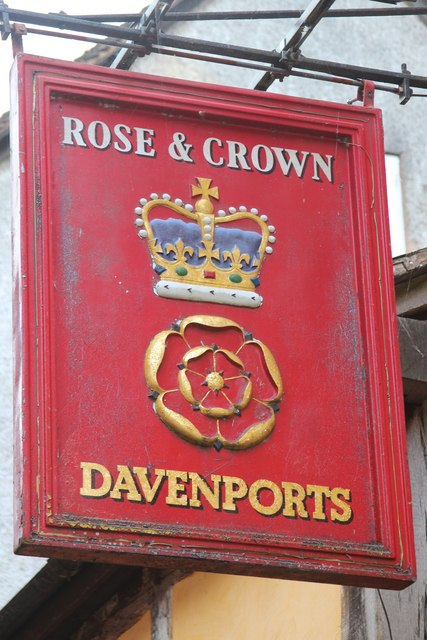 Rose & Crown sign