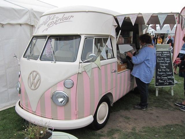 VW Transporter, Ludlow Food Festival