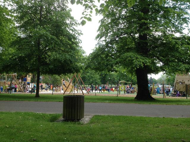 Large playground, Houndwell Park, Southampton