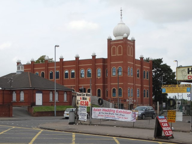 Sikh Temple on Oakland Road, Birmingham