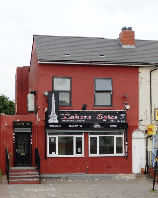 """Lahore Spice"" curry house, Soho Road, Birmingham"