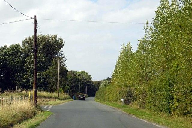 Fluke Hall Lane near Pilling