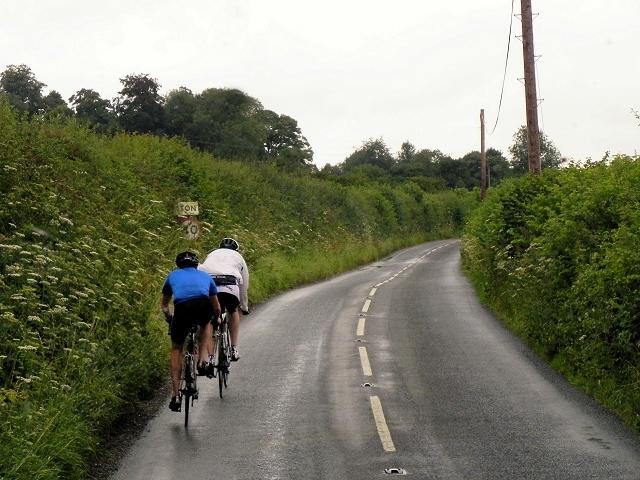 Cyclists near Northington
