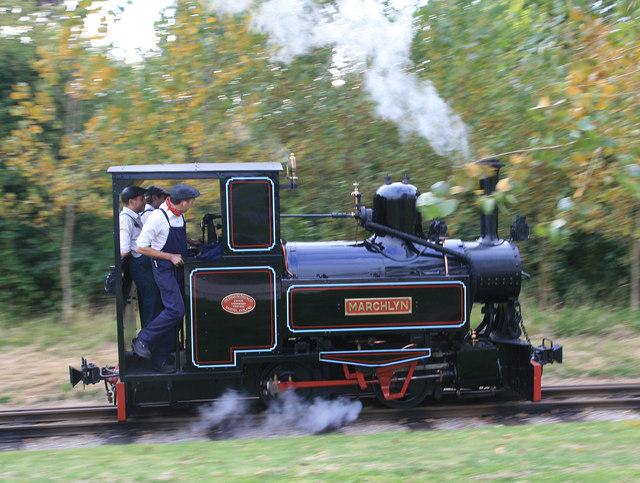 Statfold Barn Railway - wooo-hooo