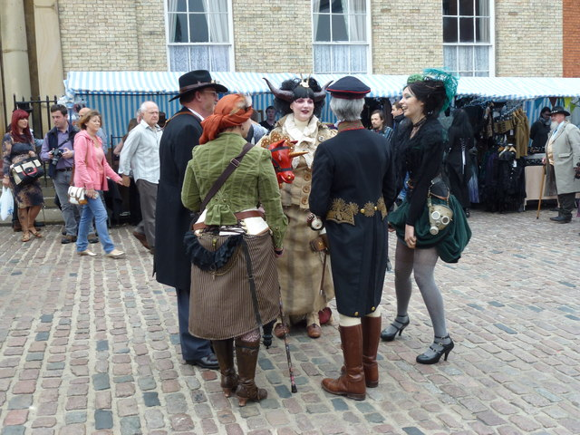 Steampunk festival in Lincoln 2014 - Photo 2