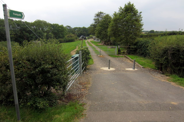 Footpath to Denton Lodge