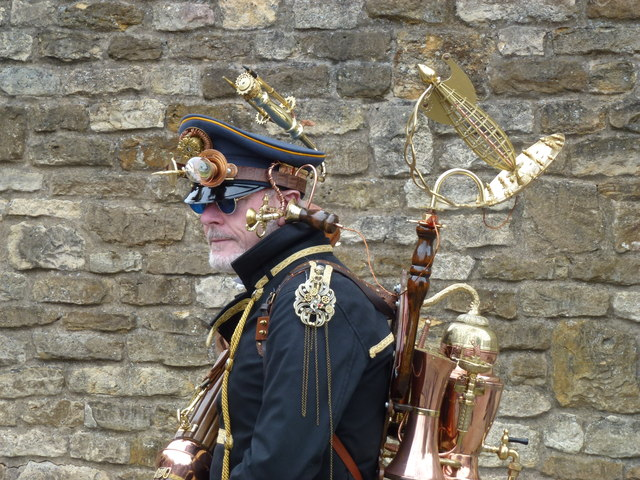 Steampunk festival in Lincoln 2014 - Photo 6