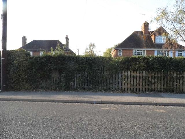 Houses on Cranleigh Road, Ewhurst