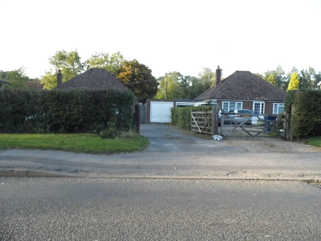 Bungalows on Cranleigh Road, Ewhurst