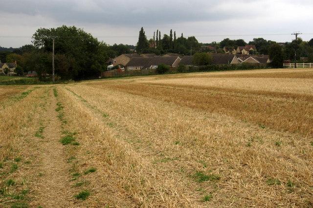 Footpath into Denton