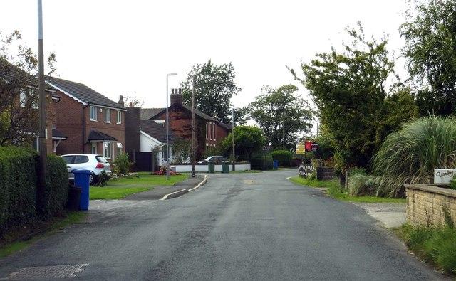 Smallwood Hey Road leaving Pilling