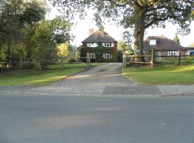 Houses on Bookhurst Road, Cranleigh