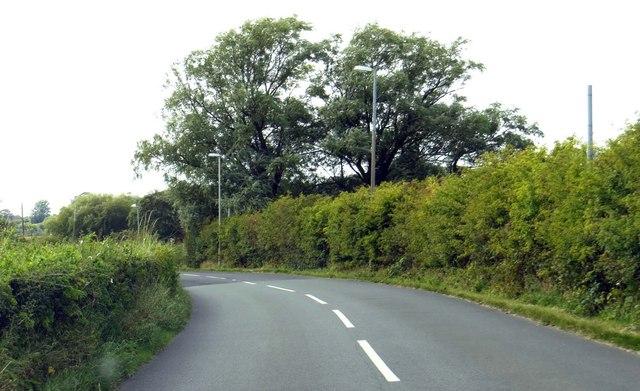 Lancaster Road into Preesall