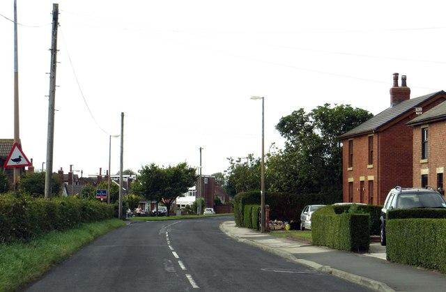 Sandy Lane through Preesall