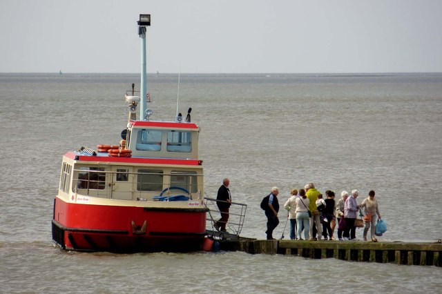 The Knott End ferry