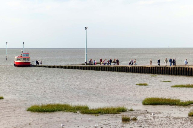 The slipway at Knott End