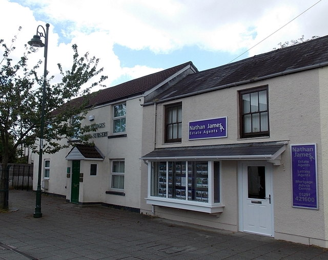Nathan James estate agents office in Caldicot