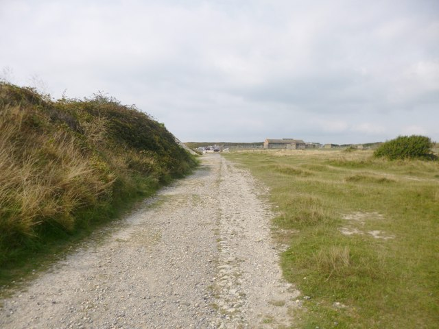 Grove, coastal path