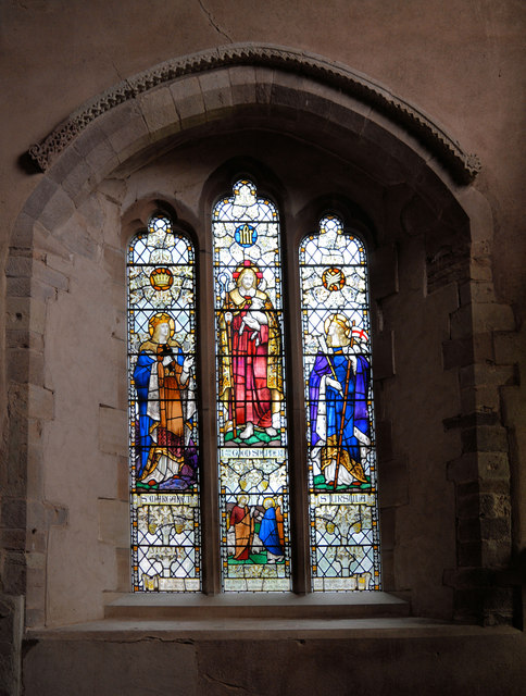Verdin memorial window, Weobley