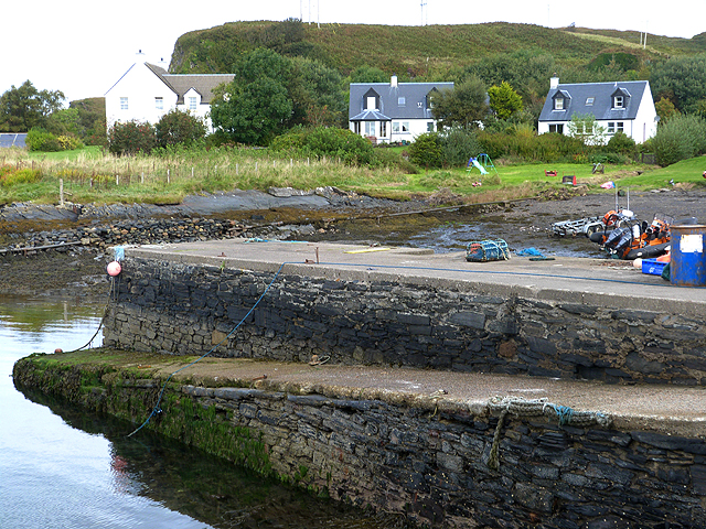 Small harbour at North Cuan