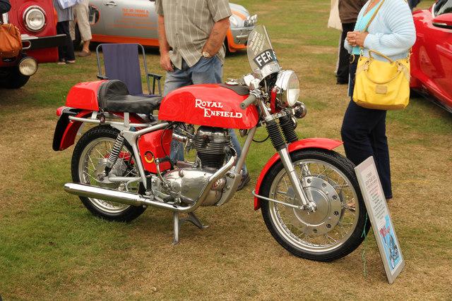 Royal Enfield 250cc racer