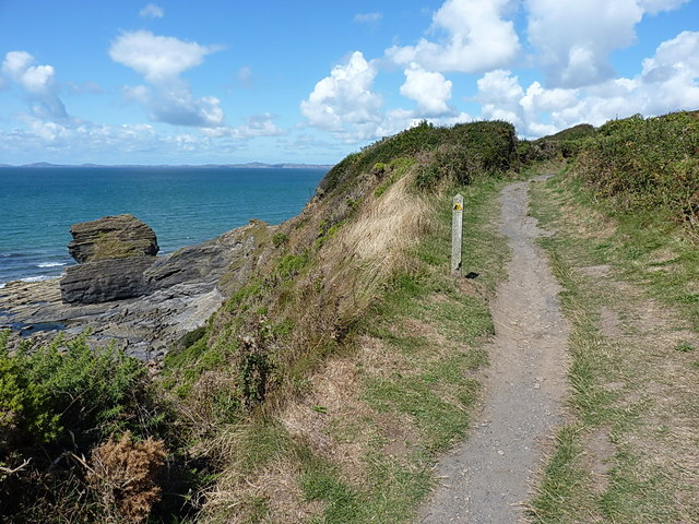Up the coast path from Broad Haven