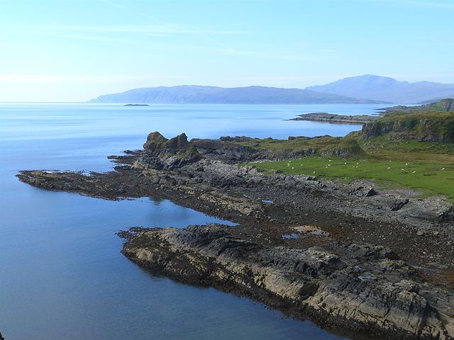Headland on the south coast of Kerrera