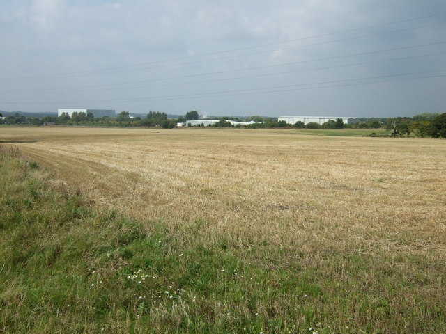 Farmland west of Pimbo Lane
