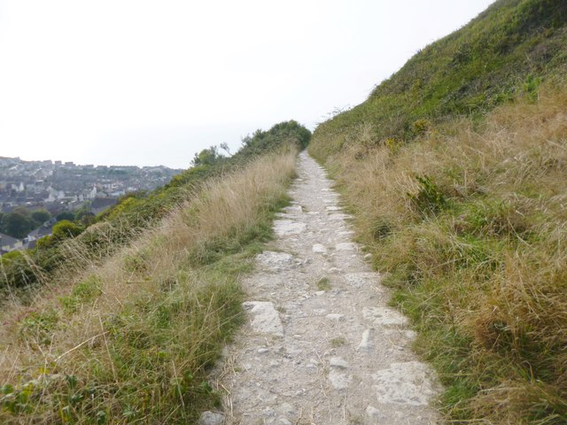 Fortuneswell, trackbed