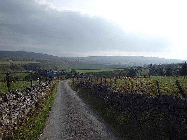 Road to Burnhope