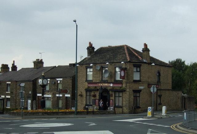 The Victoria pub, Up Holland