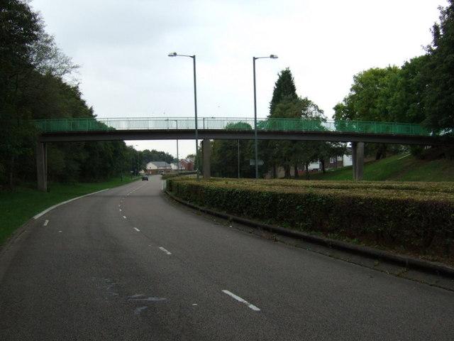 Footbridge over Digmoor Road