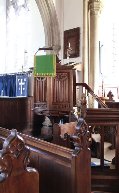 All Saints, Terling - Pulpit