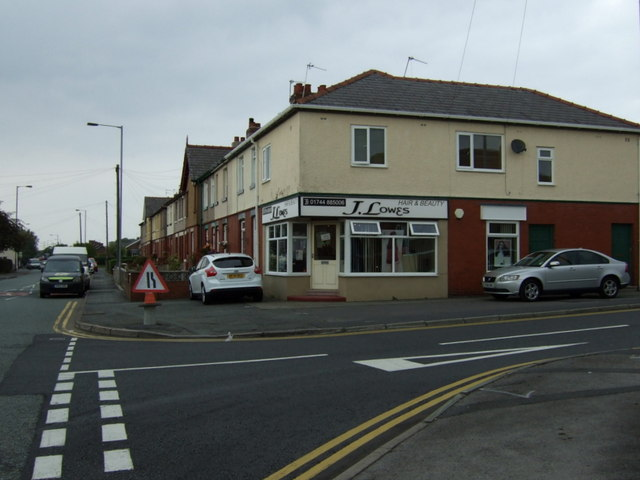 Hairdressers on Ormskirk Road, Rainford