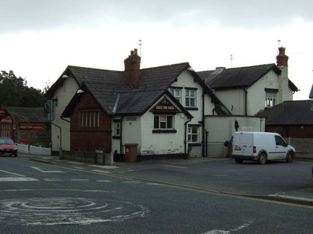 The Eagle & Child pub, Rainford