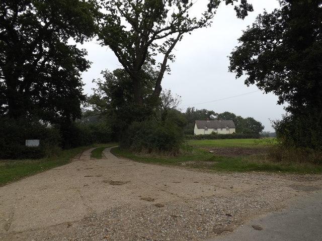 Entrance to Plantation Farmhouse & The Wilderness