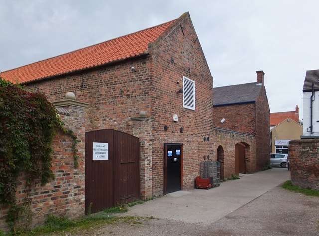 St Augustine's Gate, Hedon, Yorkshire