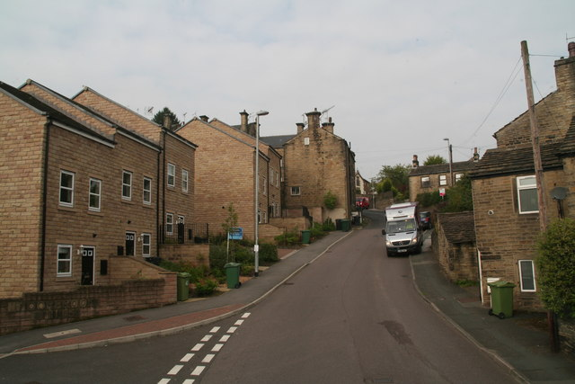 New houses on Greenhill Bank Road