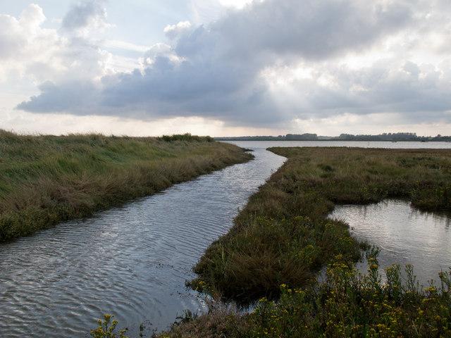 Channel to River Alde, Slaughden