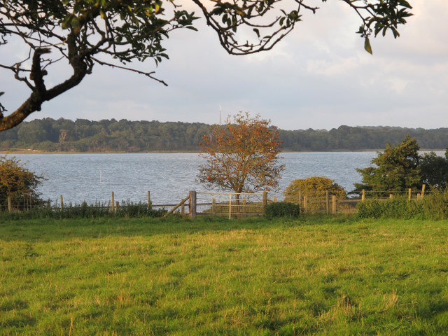 Looking to the Alde from Iken Churchyard