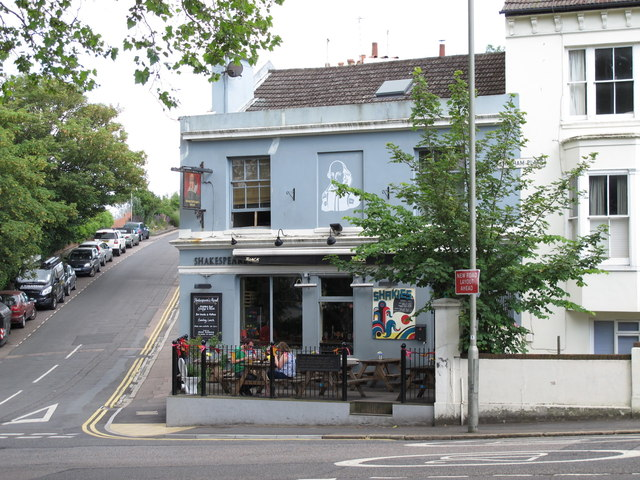 The Shakespeare's Head, Chatham Place / Howard Place, BN1