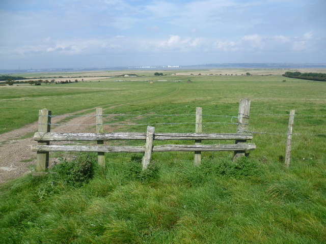 Looking out to St Mary's Marshes