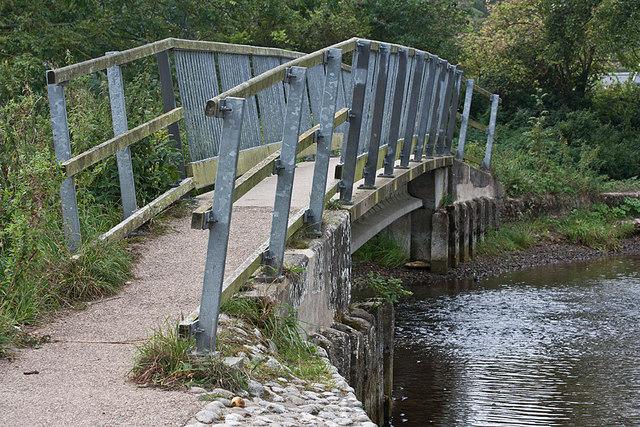 Footbridge over the River Glaven, Glandford