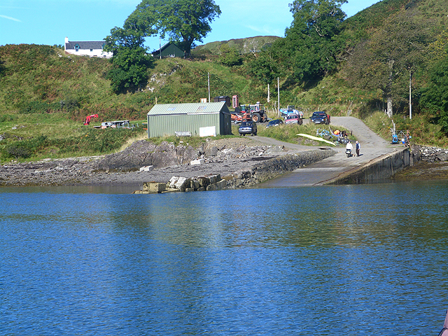 Ferry slipway on Kerrera