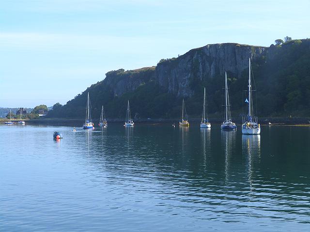 Moorings in the Kerrera Sound