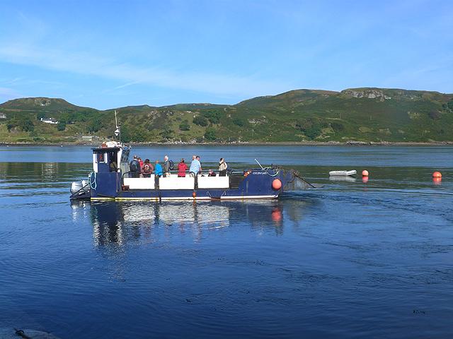 The Kerrera Ferry