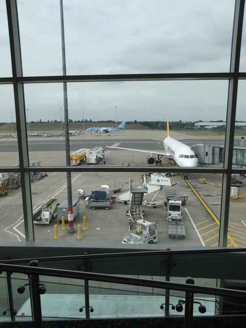Terminal view - Birmingham Airport